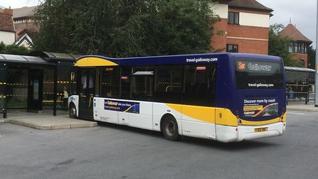 Rural bus services, like those provided by Galloways in Suffolk, are likely to be under considerable