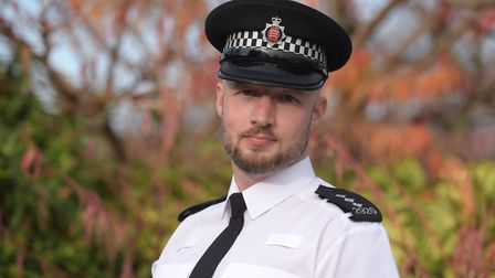Chief Inspector Paul Wells Picture: SARAH LUCY BROWN