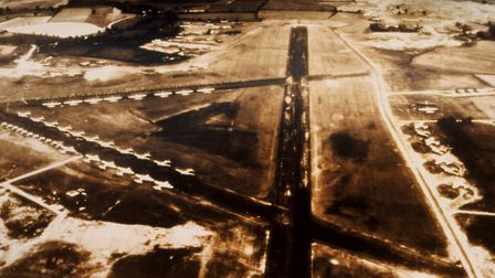 Stansted began life as a American Airforce Second World War base in 1943 Picture: LONDON STANSTED A