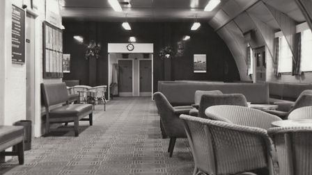 A converted wartime Nissen hut served as the terminal building in the 50s Picture: LONDON STANSTED