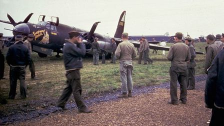 Stansted was home to the USAAF Eighth Air Force Picture: LONDON STANSTED AIRPORT