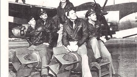 344th Bomb Group at Stansted during WWII Picture: LONDON STANSTED AIRPORT