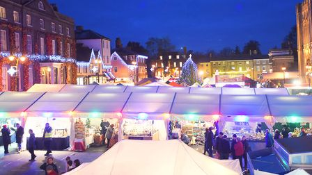 The Bury St Edmunds Christmas Fayre will take place from November 22 to 26