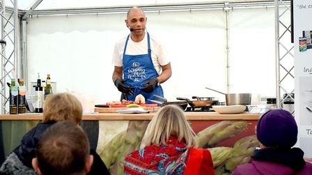 Cookery demonstrations will take place over the four-day Bury St Edmunds Christmas Fayre Picture: WE