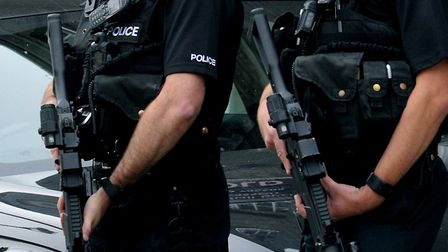 Armed police were called to an address in Braintree (stock image) Picture: ANDY ABBOTT