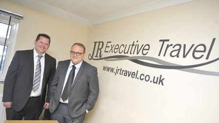 Andy Fisk and Ian Tooke who were the joint managing directors at JR Executive Travel.