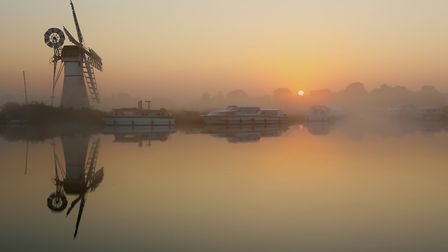 Early morning at Thurne on the Norfolk Broads. Picture: Picasa