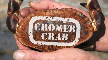 For a man of refined tastes, a Cromer crab (no other will do). Picture: Anthony Kelly