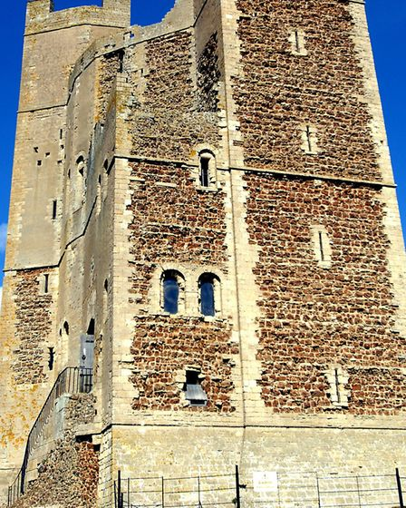 A chance to take Orford Castle: Picture: Sarah Lucy Brown