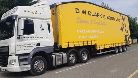 DW Clark takes delivery of two trucks from Chassis Cab