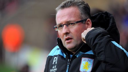 Paul Lambert led Aston Villa to two 15th place finishes in the Premier League. Photo: PA