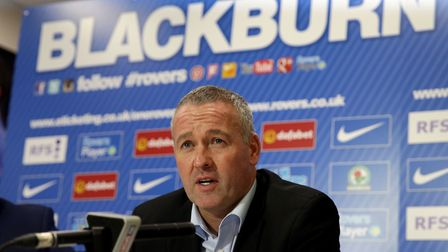 Paul Lambert spent less than a year in charge of Blackburn Rovers. Photo: PA