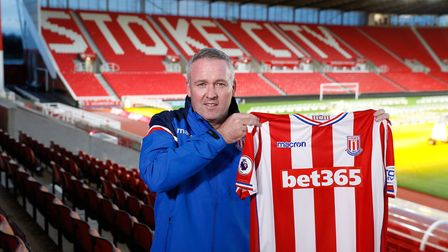 Paul Lambert was appointed Stoke boss in January this year but could not prevent them from being rel
