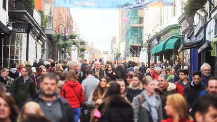 Thousands flock to Bury St Edmunds Christmas Fayre each year - and is among the biggest in the count