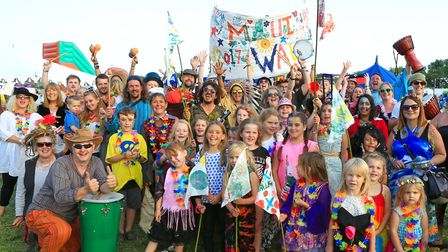 Maui Waui Festival is a popular event over the August bank holiday weekend. Picture: JERRY TYE