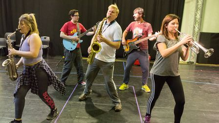 Enjoy the New Wolsey Theatre's rock'n'roll panto during time off over Christmas and New Year. Pictur