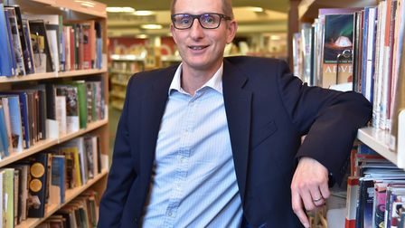 Suffolk Libraries chief executive Bruce Leeke. Picture: SONYA DUNCAN