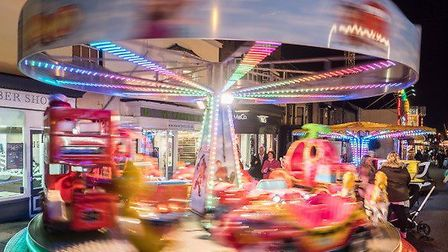 A fun fair will be at the Newmarket Christmas Festival Picture: LOVE NEWMARKET BID
