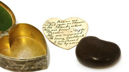 Nephrite box and South Seas nut. Picture: Stephen Baker