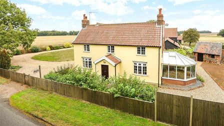Fornham Road Farm in Great Barton is for sale Picture: BEDFORDS