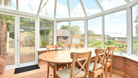 The conservatory Fornham Road Farm Picture: BEDFORDS