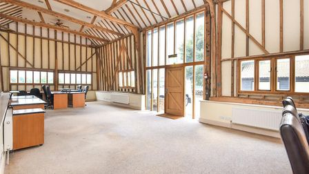 Inside the office complex at Fornham Road Farm Picture: BEDFORDS
