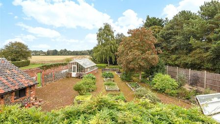 The Garden area at Fornham Road Farm Picture: BEDFORDS