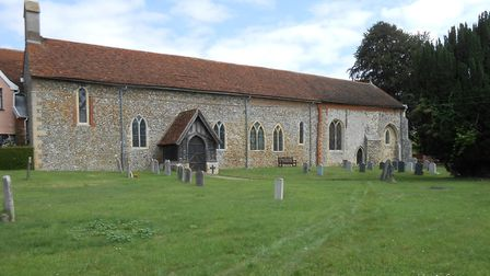 St Mary and St Lawrence Church at Great Bricett has received a lottery grant for urgent roof repairs