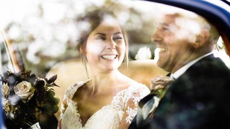 The wedding image which has seen Barney Maguire shortlisted for a national award Picture: BARNEY MAG