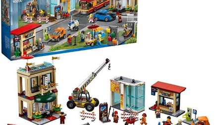 Lego City Capital Construction Set is in the toy sale at Argos. Picture: ARGOS