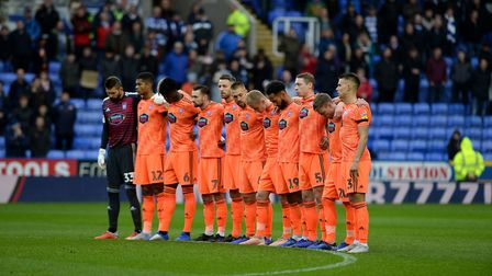 The minute's silence at Reading Picture Pagepix