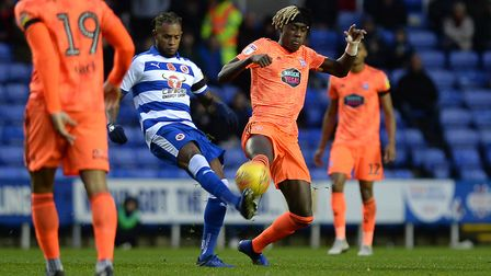 Trevoh Chalobah challenges at Reading Picture Pagepix
