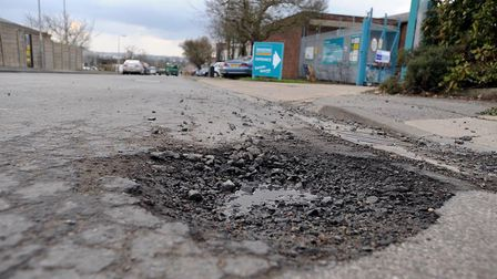Pothole payouts by Suffolk HIghways has cost tens of thousands of pounds Picture: ARCHANT