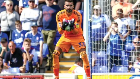 Bartosz Bialkowski coped well with changes to his kicking game. Picture: Steve Waller