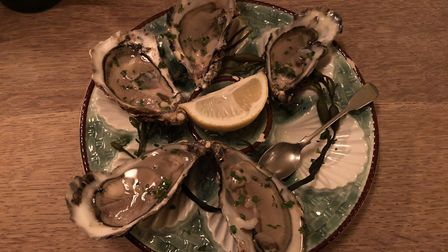 Oysters at The Station Hotel, Framlingham PICTURE: Archant