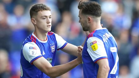 Jack Lankester made his Ipswich Town debut against QPR, replacing Gwion Edwards. Picture: STEVE W