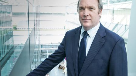 Ken O'Toole, chief executive of Stansted Airport. Picture: TONY PICK PHOTOGRAPHY