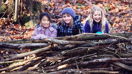Foxburrow Farm is offering kids and families outdoor fun this autumn. Photo Nick Ilott.