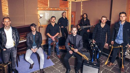 Skerryvore who are appearing at The Apex as part of their world tour Photo Rachel Keenan