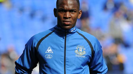 Nsiala came through the Everton youth system after taking up football at 15. Picture: PA
