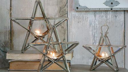 Candle holders from Style@Stow, Stowmarket PICTURE: Style@Stow