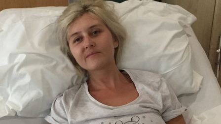 Mrs Edgar was first diganosed back in 2014 Picture: BRAIN TUMOUR RESEARCH