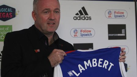 Paul Lambert's first game in charge of Ipswich Town will be against Preston, at Portman Road, on Sat