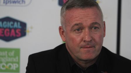 Paul Lambert the new Ipswich Town manager Picture: ROSS HALLS