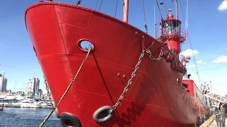 The lightship LV18 moored in Ipswich Picture: ARCHANT