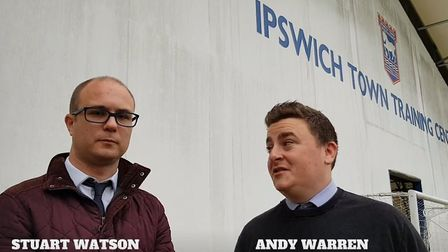 Stuart Watson and Andy Warren react to Paul Lambert's first presss conference as Ipswich Town manage