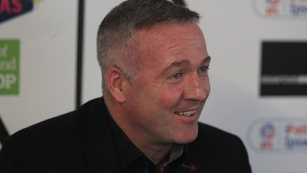 New Ipswich Town manager Paul Lambert Picture: ROSS HALLS