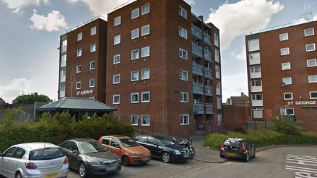 St Andrews Tower block on Mill Hill in Newmarket. Picture: GOOGLE MAPS