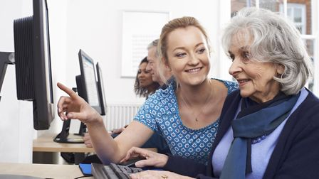 Get Connected events will offer advice to those needing some help with devices such as laptops, tabl