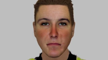 This efit is thought to resemble a man that police would like to talk to in connection to an attempt